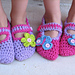 Childrens slippers pattern
