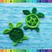 Turtle Applique pattern