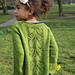 Leaf Lace Cardigan (kids) pattern
