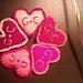 Lavender Hearts pattern