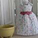 Let's Go to Dublin Dress Dishcloth pattern