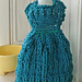 Let's Visit Germany Dress Dishcloth pattern