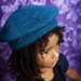 Windmill Beret in Worsted pattern