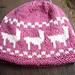 Marching Alpacas Hat pattern