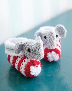 Elephant Slippers Addi Pro Knitting Machine Pattern | Etsy | 320x251