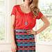 Bright Stripes Skirt pattern