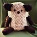 Stuffed Animal Blanket pattern