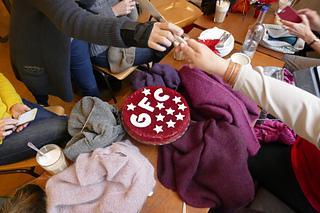 The Girlfriendscardigan (GFC) cake