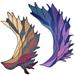 Phoenix-Wing / Phoenix-Flügel pattern