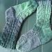 Cucumber Falls Socks pattern