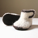 Heirloom Felted Newborn Baby Booties pattern