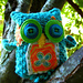 Folk Art Owl Pattern pattern
