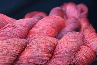 Panda Sock - Red Hot Colorway