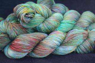 Soft & Sturdy Sock - Fern Colorway