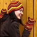 Milles-Feuilles Hat & Mitten Set pattern