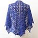 Raventwist Star Maiden Shawl pattern