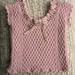 Vest for Child of Three pattern
