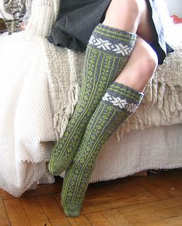 finished norwegian stockings 2