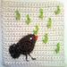 Songbird blanket square pattern