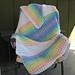 Rainbow Baby Blanket pattern