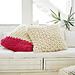 Oversized Arm Knit Pillows pattern