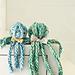 Finger Knit Octopus Family pattern
