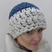 Two Colored Crochet Beanie pattern