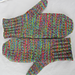 Sock Yarn Mittens pattern