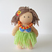 Hula Girl pattern