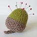 Acorn pincushion pattern