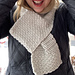The Easy Market Scarf pattern
