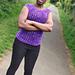 Bliss in Purple Tee pattern