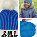 Chic Reversible Beanie pattern