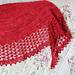 Les rêveurs shawl pattern