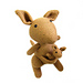 Kangaroo, Amber and baby Joey pattern