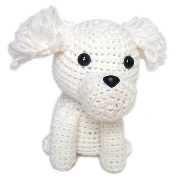 Maltese dog crochet pattern Crochet pattern by Ambercraftstore ... | 640x640