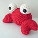 Amigurumi Tipper the Tiny Crab pattern