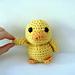 Amigurumi Mal the Tiny Duck pattern