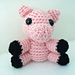 Amigurumi Cliveton the Tiny Pig pattern