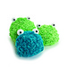 Mike the microbe and Mac the macrobe/ Micky & Mekki  pattern