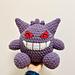 Cuddly Gengar from Pokemon pattern