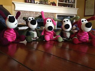 Amigurumi Dog Buffy Crochet Free Pattern - Crochet & Knitting   240x320