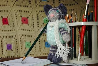 Artist kitty