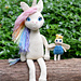 Unicorn and Fairy Friend pattern