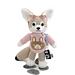 Fennec Fox with Mascot Shirt pattern