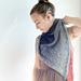 Delicate Blush Shawl pattern