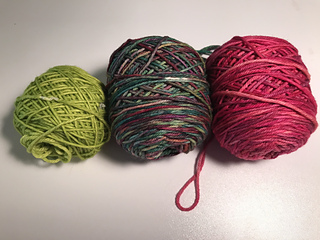 A Few of my Favorite Things: A MKAL Worsted weight yarn