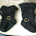 Pirate Baby Booties pattern