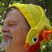 Rubber Chicken Hat pattern