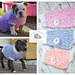 DK crochet sweaters for small dog breeds pattern